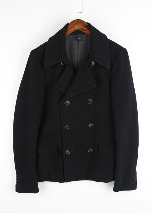 Pledge double button wool jacket