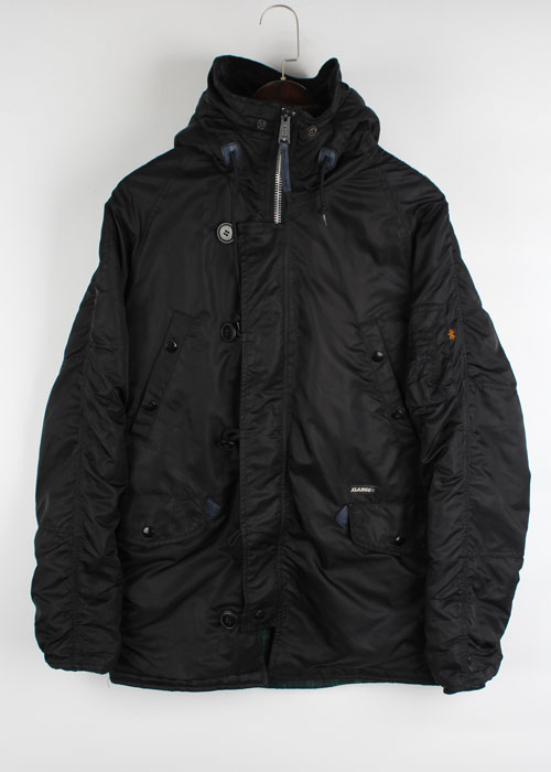 ALPHA x X-LARGE parka