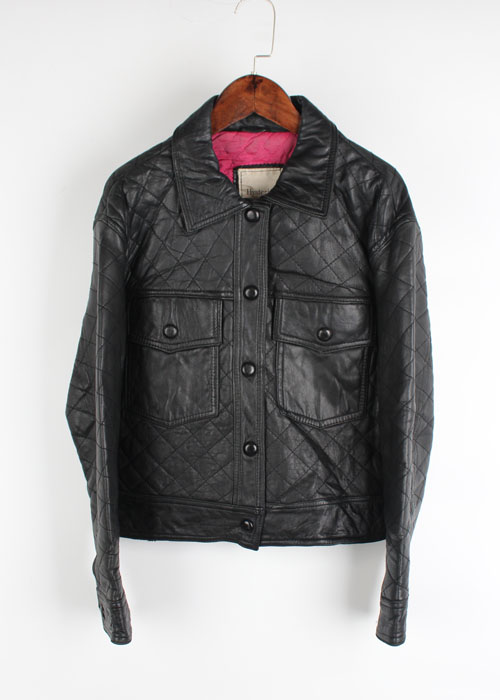 HYSTERIC GLAMOUR quilting leather jacket