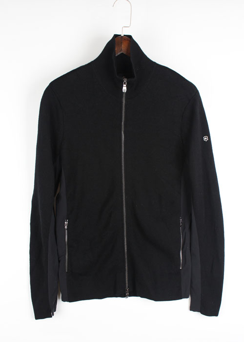 VICTORINOX merino wool knit zip-up