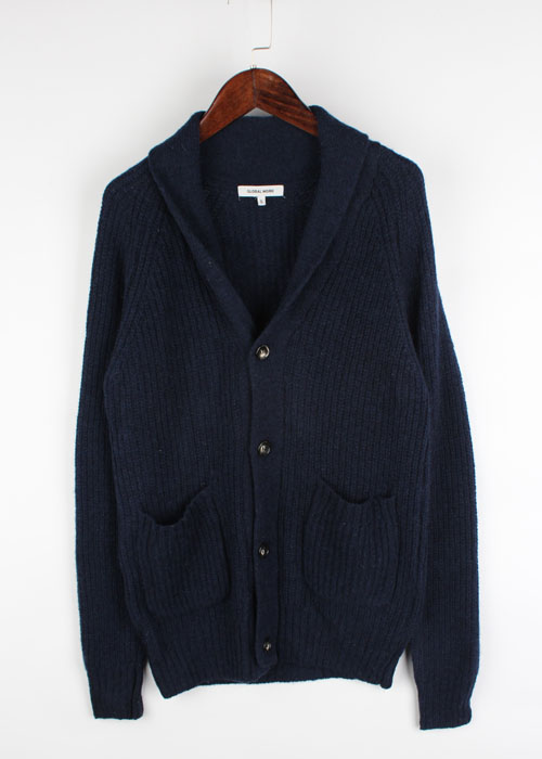 GLOBAL WORK wool knit cardigan
