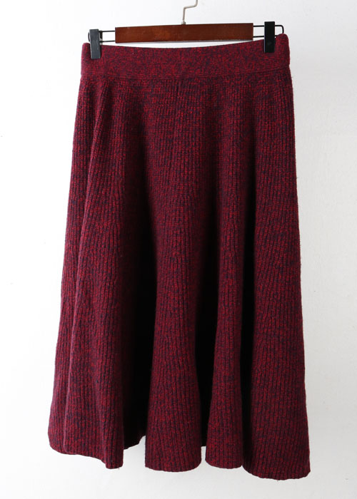 SONO wool knit skirt