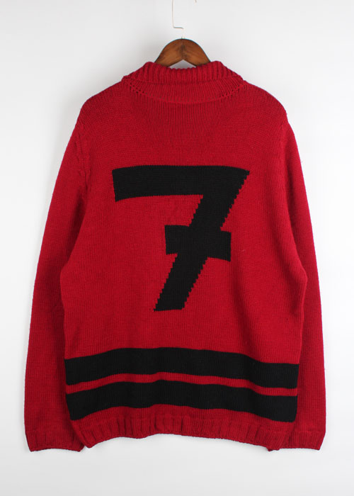 DRIES VAN NOTEN over size wool sweater