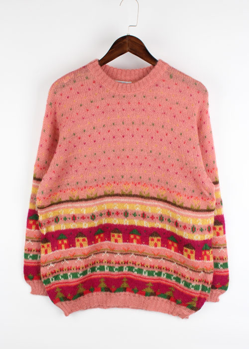 BENETTON  mohair sweater