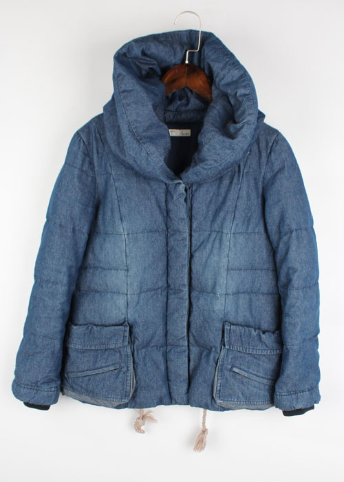 AVIREX chambray down jacket