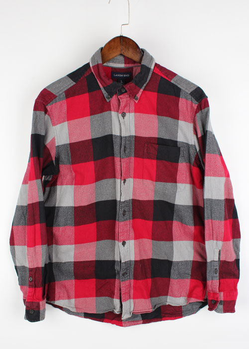 LANDS' END check shirts