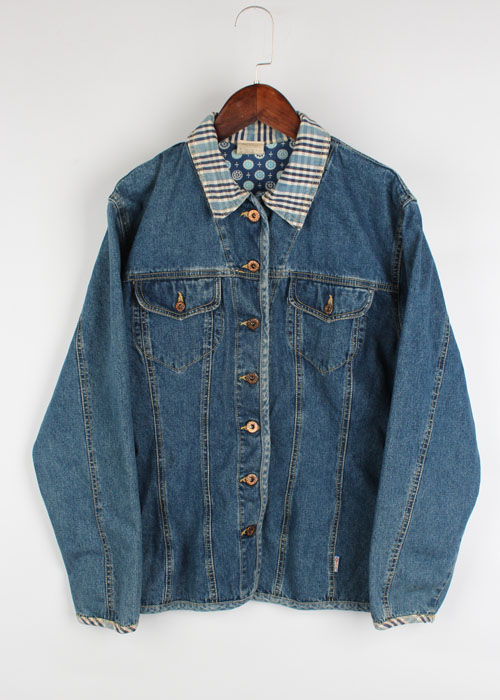 01LILY denim shirts jacket