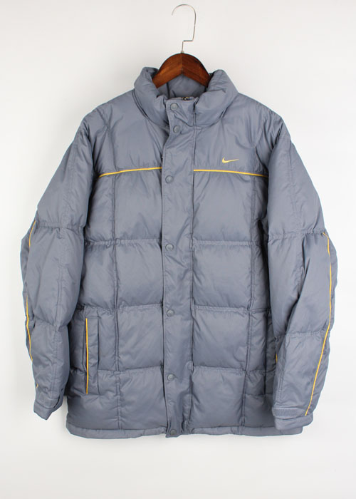NIKE grey duck down jacket