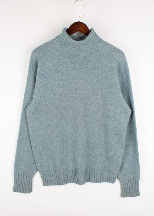 NORTH MARINE DRIVE by 45rpm turtle neck wool knit