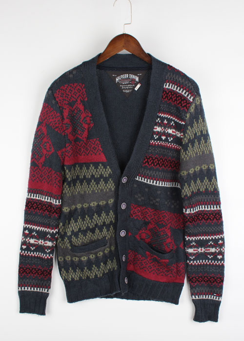 HILFIGER DENIM knit cardigan