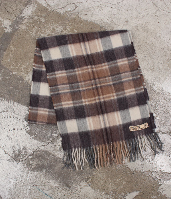 camel hair scarf