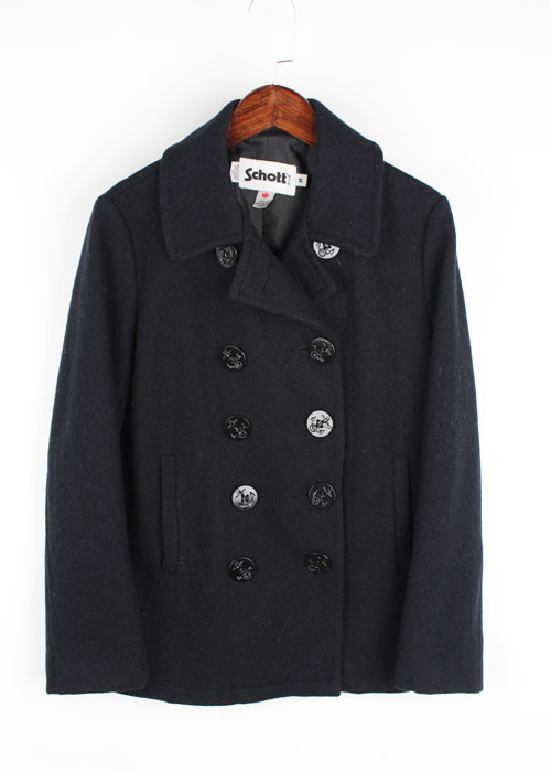 SCHOTT x earth music&ecology wool jacket