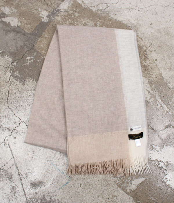 Leilian x COLOMBO  cashmere scarf