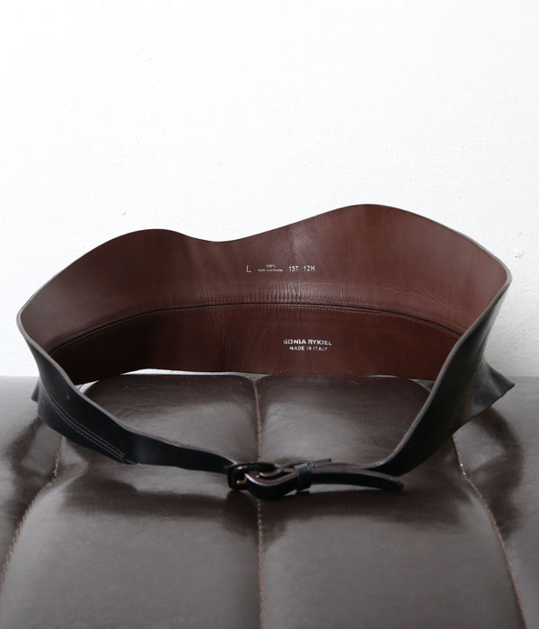 SONIA RYKIEL leather belt