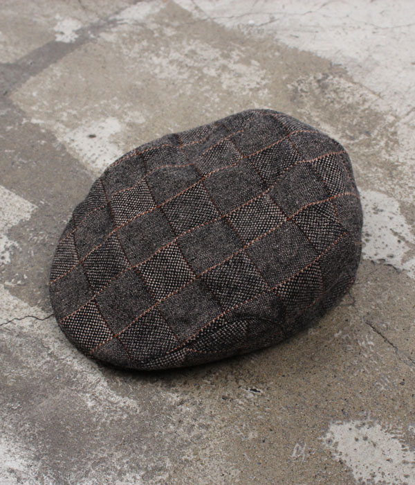 wigens tweed wool hunting cap