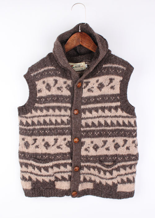 HIGHLAND wool sweater vest