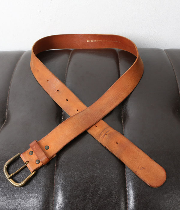(+1) leather belt