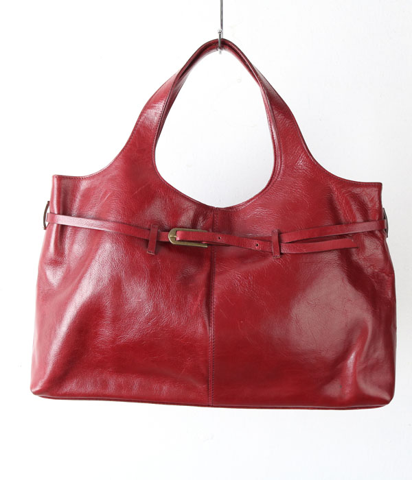 vtg leather bag