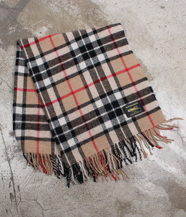 BANNOCKBURN wool blanket