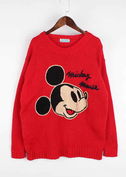 90's disney wool knit