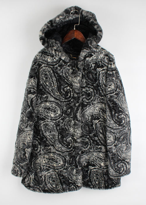 ROPE fur coat