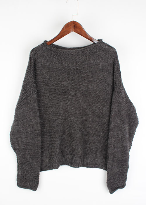 Lugnoncure over knit