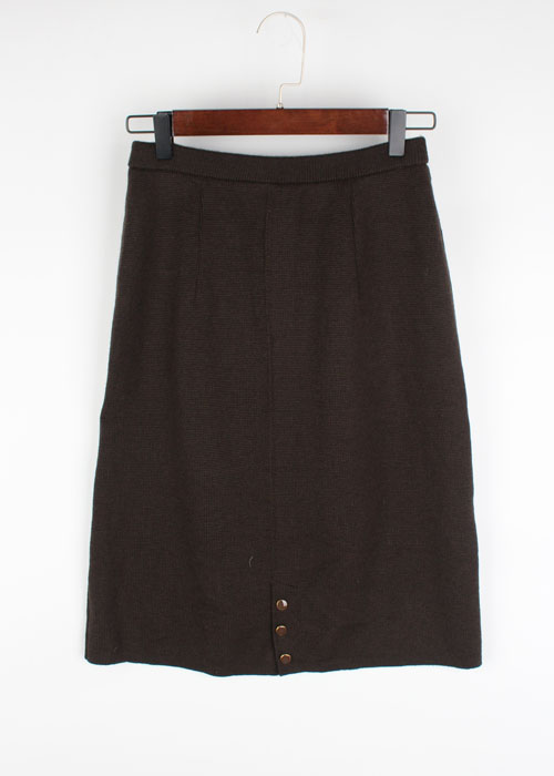 wool knit skirt