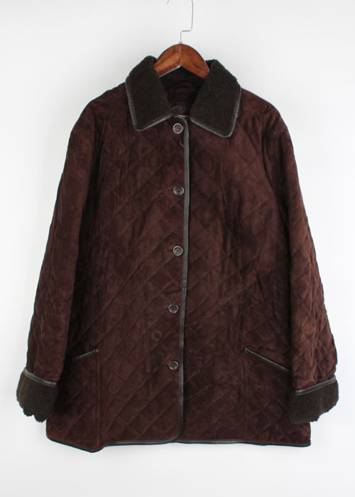 L.L.Bean suede quilting jacket