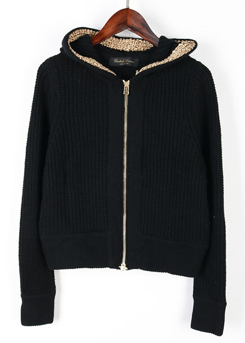 UNITED ARROWS knit hoodie