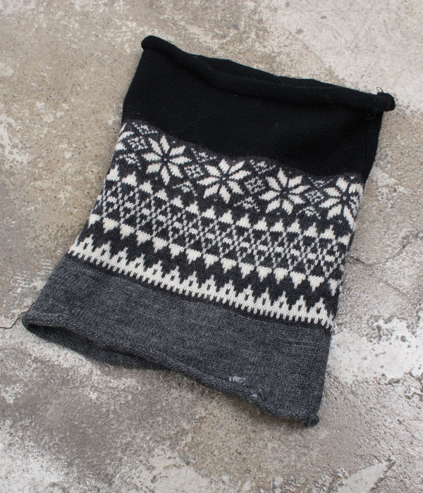 MaD wool knit neck warmmer