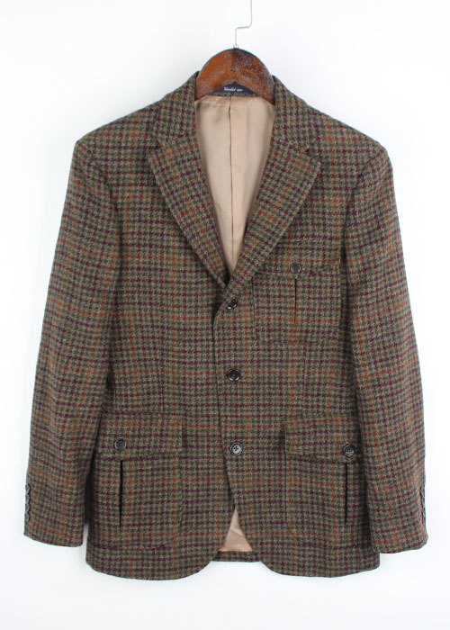 Cricket 1960 fabric by MOON TWEED wool jacket