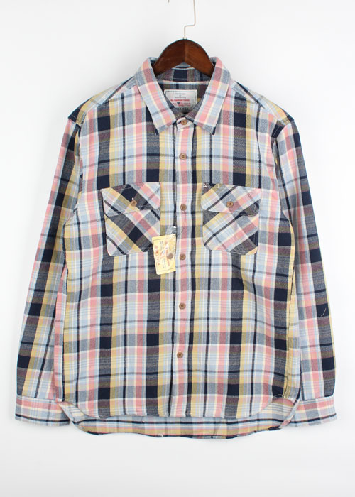 AVIREX check shirts