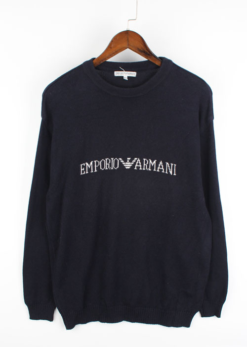 EMPORIO ARMANI cotton knit