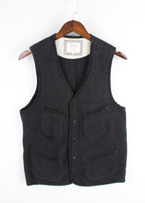 B'MING LIFE STORE by BEAMS wool vest