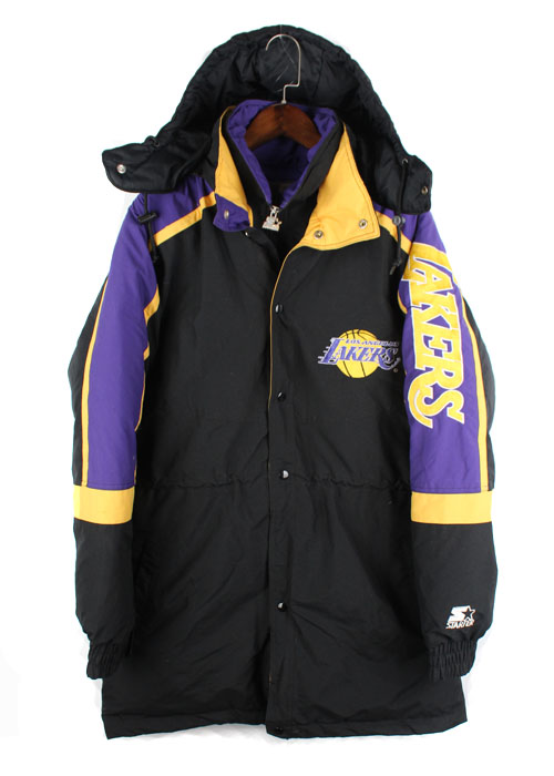 "STARTER ""L.A LAKERS"" down parka"