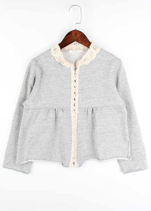 enracine sweat cardigan