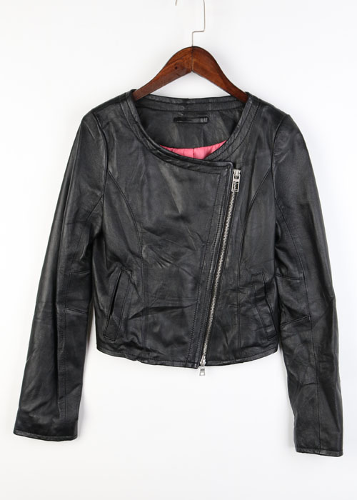 ROYAL PARTY sheep skin leather jacket