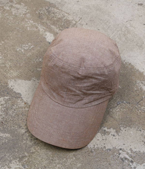 GREEN LABEL RELAXING chambray cap