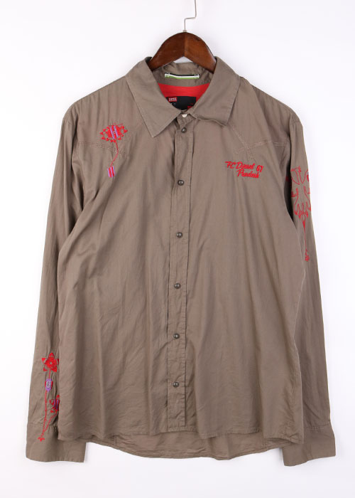 DIESEL embroid shirts