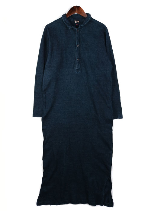 45rpm indigo cotton one-piece