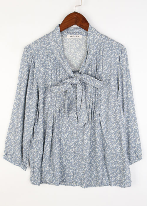 NICE CLAUP rayon blouse