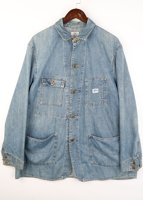 EDWIN denim coverall
