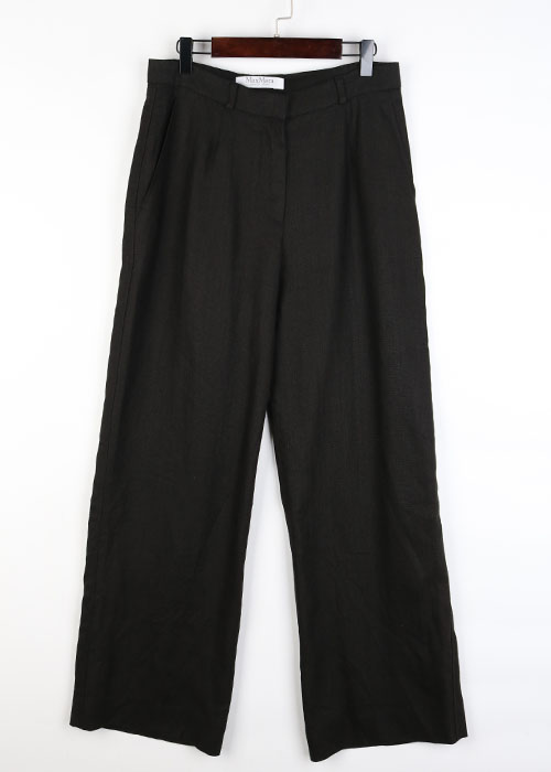 Max Mara linen wide pants