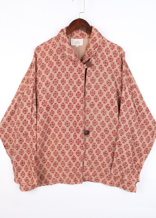 TYCOON gauze cotton jacket