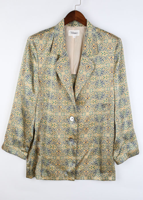 Haneo silk jacket