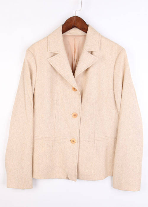 BURBERRY wool&silk jacket