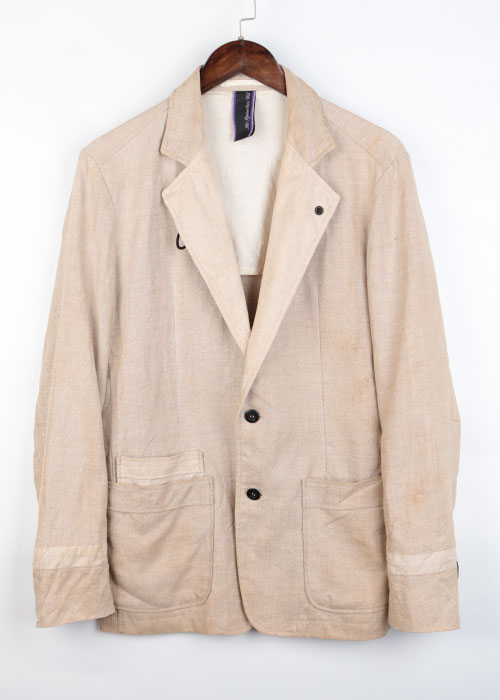 Art Against One's Will linen jacket