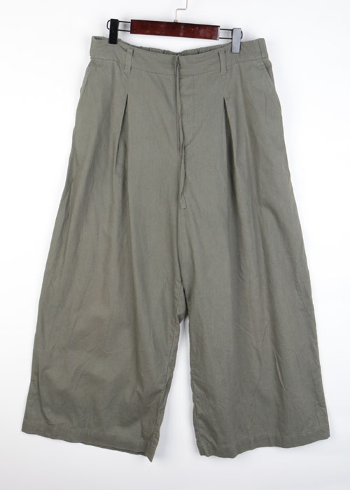 STUDIO CLIP linen blend wide pants