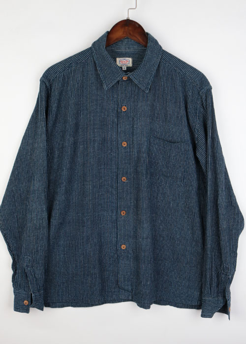 GAIJIN MADE indigo shirts