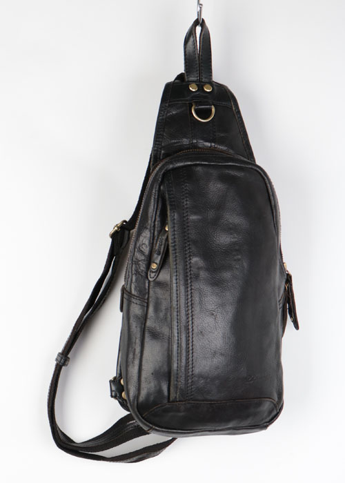 DOUBLES leather bag